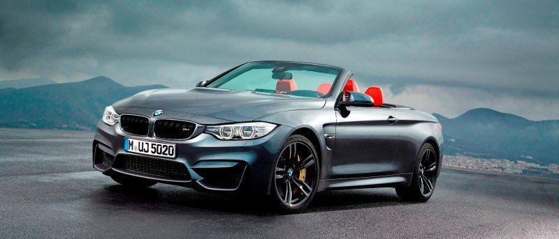 Car-Revs-Daily.com -- 2015 BMW M4 Convertible in 39 High-Res Official Photos 23
