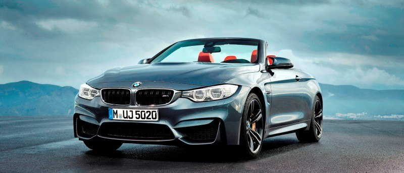 Car-Revs-Daily.com -- 2015 BMW M4 Convertible in 39 High-Res Official Photos 24