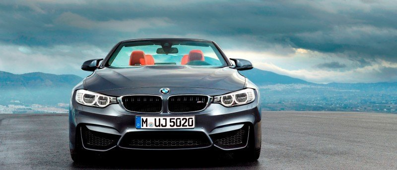 Car-Revs-Daily.com -- 2015 BMW M4 Convertible in 39 High-Res Official Photos 25