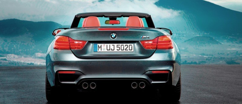 Car-Revs-Daily.com -- 2015 BMW M4 Convertible in 39 High-Res Official Photos 26