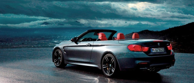 Car-Revs-Daily.com -- 2015 BMW M4 Convertible in 39 High-Res Official Photos 27