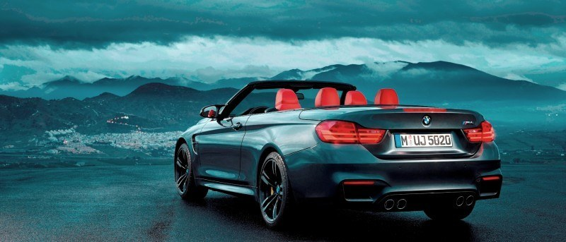 Car-Revs-Daily.com -- 2015 BMW M4 Convertible in 39 High-Res Official Photos 28
