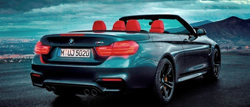 Car-Revs-Daily.com -- 2015 BMW M4 Convertible in 39 High-Res Official Photos 29