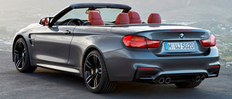 Car-Revs-Daily.com -- 2015 BMW M4 Convertible in 39 High-Res Official Photos 3