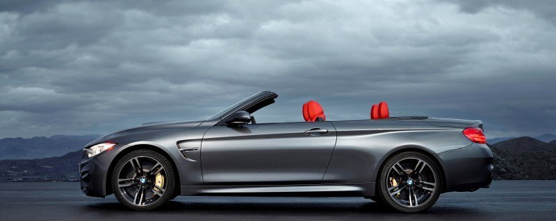 Car-Revs-Daily.com -- 2015 BMW M4 Convertible in 39 High-Res Official Photos 31