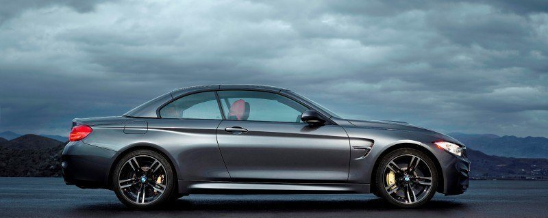 Car-Revs-Daily.com -- 2015 BMW M4 Convertible in 39 High-Res Official Photos 32