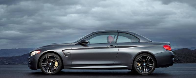 Car-Revs-Daily.com -- 2015 BMW M4 Convertible in 39 High-Res Official Photos 33