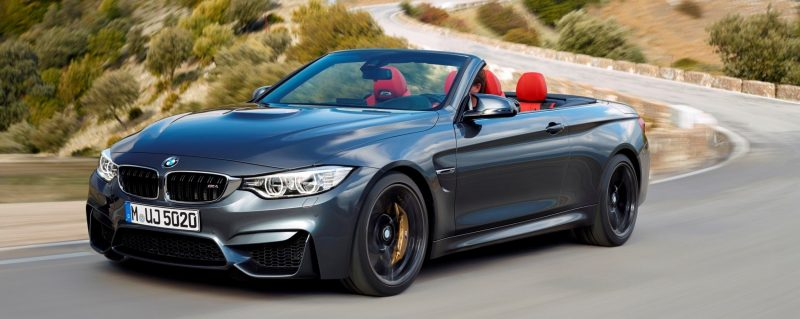Car-Revs-Daily.com -- 2015 BMW M4 Convertible in 39 High-Res Official Photos 34