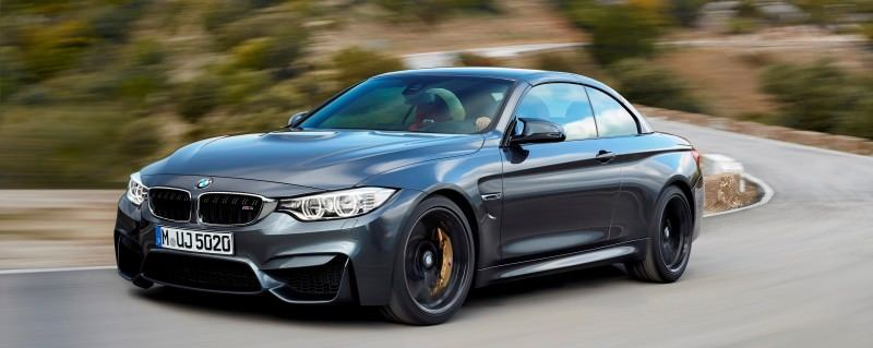 Car-Revs-Daily.com -- 2015 BMW M4 Convertible in 39 High-Res Official Photos 35