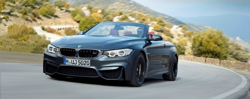Car-Revs-Daily.com -- 2015 BMW M4 Convertible in 39 High-Res Official Photos 36