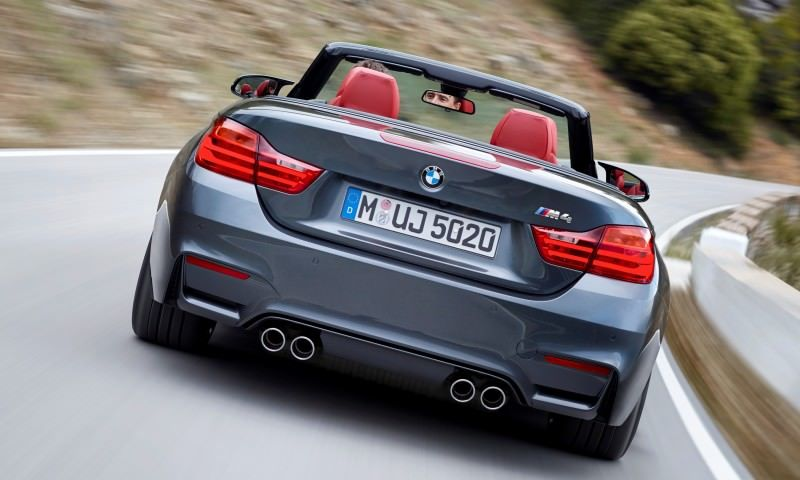 Car-Revs-Daily.com -- 2015 BMW M4 Convertible in 39 High-Res Official Photos 37