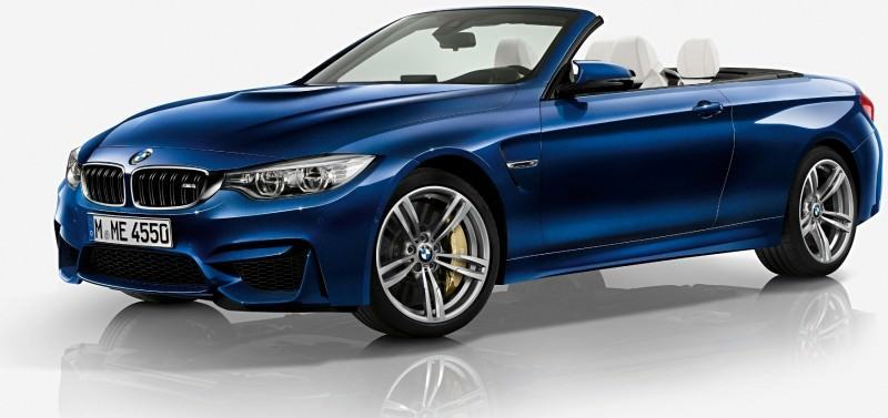 Car-Revs-Daily.com -- 2015 BMW M4 Convertible in 39 High-Res Official Photos 38