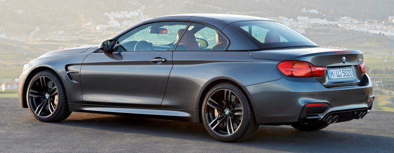 Car-Revs-Daily.com -- 2015 BMW M4 Convertible in 39 High-Res Official Photos 4