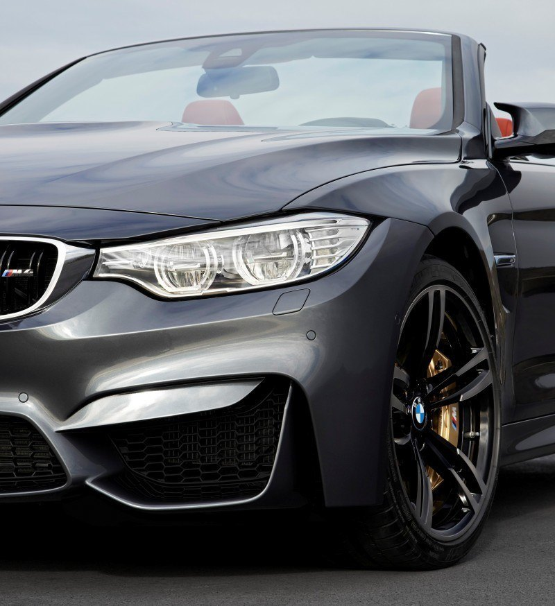 Car-Revs-Daily.com -- 2015 BMW M4 Convertible in 39 High-Res Official Photos 5