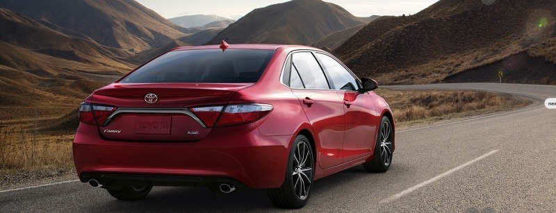 Car-Revs-Daily.com 2015 Toyota Camry Redesign Delivers Greater Chassis Strength, Wider Stance and More LED Style 25