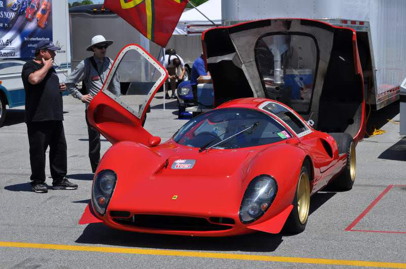Car-Revs-Daily.com - Bailey Ferrari P-4 Replica Running 400i V12 1