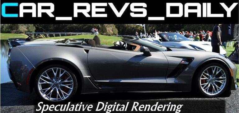 Car-Revs-Daily.com -- Corvette Z06 Spyder