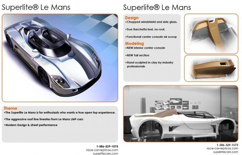 Car-Revs-Daily.com - EXCLUSIVE Preview - 2014 Superlite SLC Le Mans Spyder 14