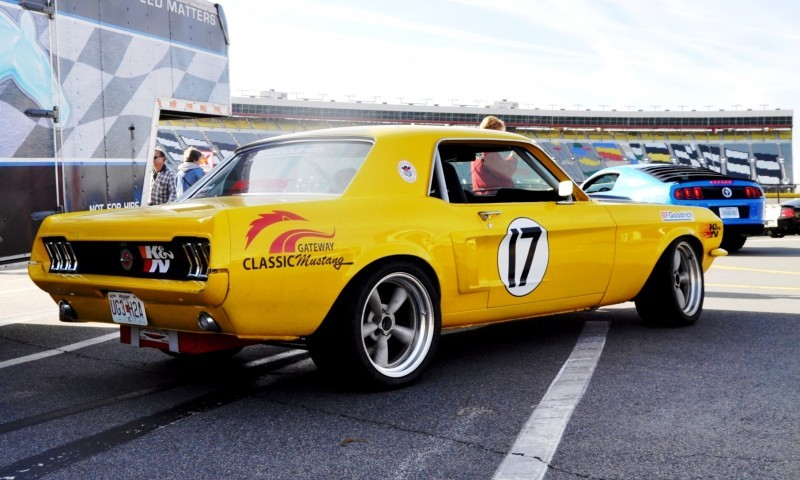 Car-Revs-Daily.com - Race-Prepped 1967 Mustang Hardtop in SB Yellow1