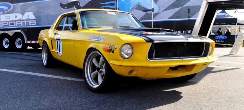 Car-Revs-Daily.com - Race-Prepped 1967 Mustang Hardtop in SB Yellow11