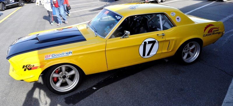 Car-Revs-Daily.com - Race-Prepped 1967 Mustang Hardtop in SB Yellow21