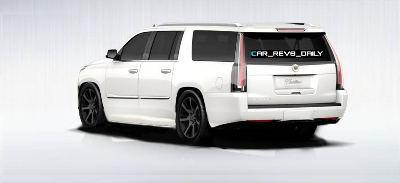2016 Escalade V Series And Esv Vsport New Renderings Thoughts 4wd