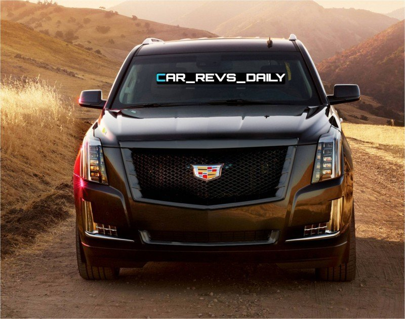 Car-Revs-Daily.com -- Rendering -- Cadillac Escalade Vsport Front