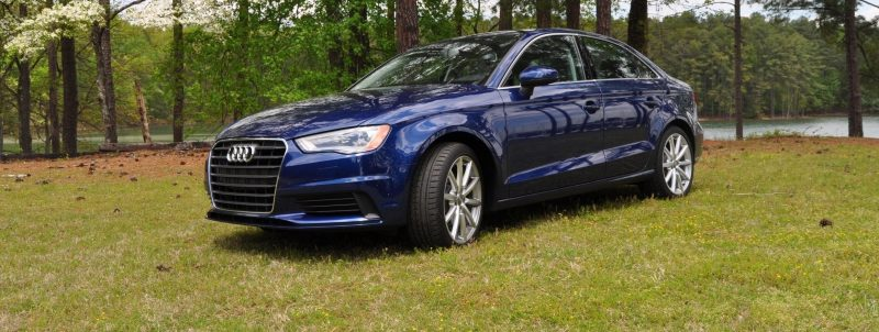 Car-Revs-Daily.com Road Test Review - 2015 Audi A3 Sedan 1.8 FWD 11