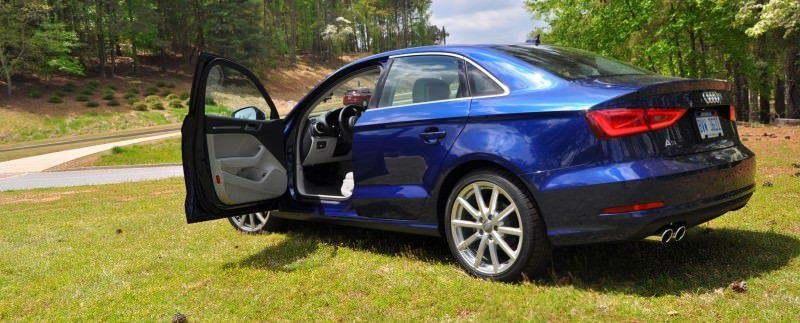 Car-Revs-Daily.com Road Test Review - 2015 Audi A3 Sedan 1.8 FWD 45