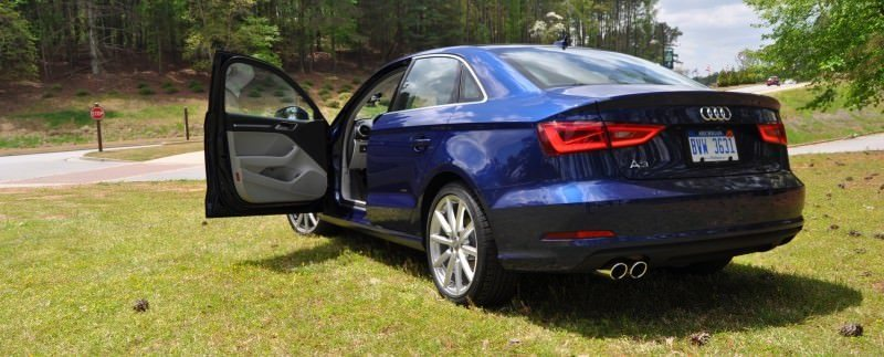 Car-Revs-Daily.com Road Test Review - 2015 Audi A3 Sedan 1.8 FWD 46