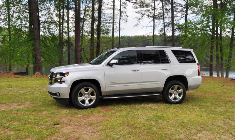 Car-Revs-Daily.com Road Test Review Videos - 2015 Chevrolet Tahoe LTZ 4WD128