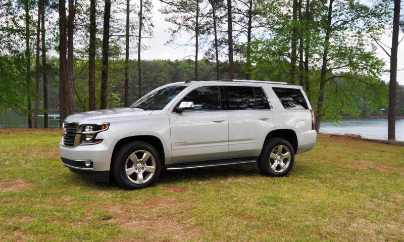 Car-Revs-Daily.com Road Test Review Videos - 2015 Chevrolet Tahoe LTZ 4WD129