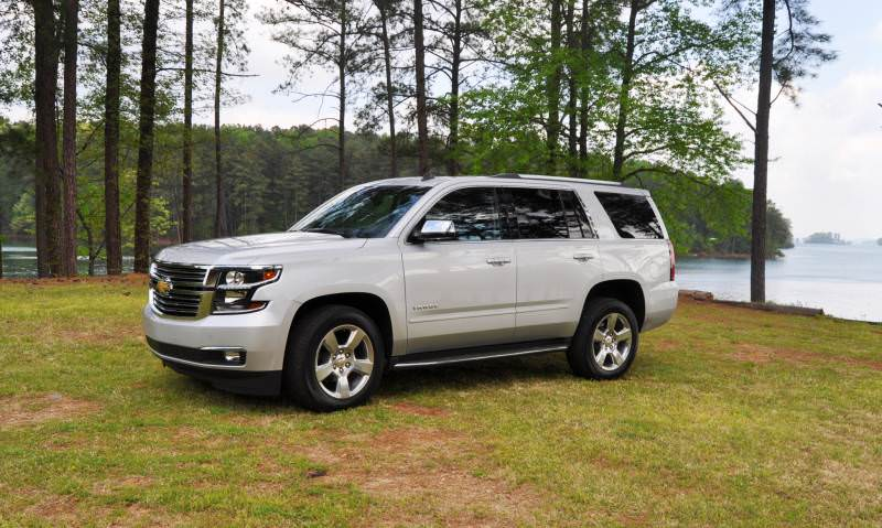 Car-Revs-Daily.com Road Test Review Videos - 2015 Chevrolet Tahoe LTZ 4WD130