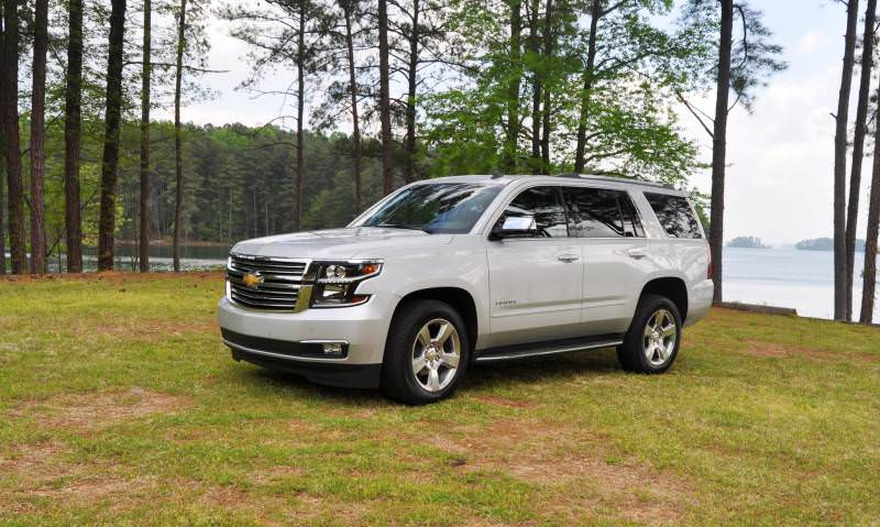 Car-Revs-Daily.com Road Test Review Videos - 2015 Chevrolet Tahoe LTZ 4WD131
