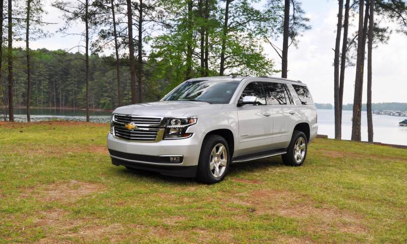 Car-Revs-Daily.com Road Test Review Videos - 2015 Chevrolet Tahoe LTZ 4WD132