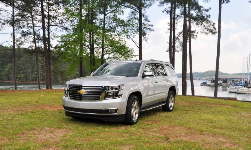 Car-Revs-Daily.com Road Test Review Videos - 2015 Chevrolet Tahoe LTZ 4WD133
