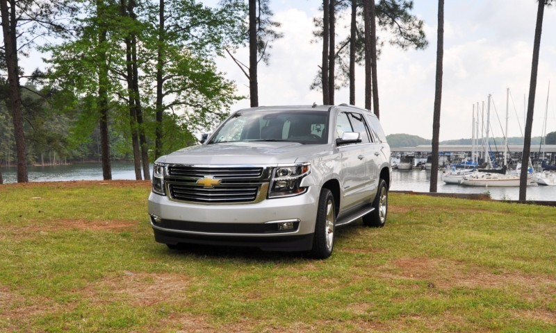 Car-Revs-Daily.com Road Test Review Videos - 2015 Chevrolet Tahoe LTZ 4WD134