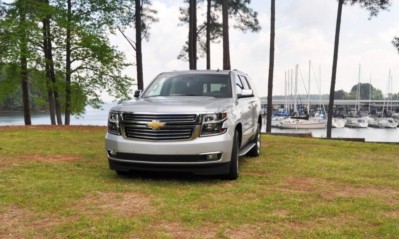 Car-Revs-Daily.com Road Test Review Videos - 2015 Chevrolet Tahoe LTZ 4WD135