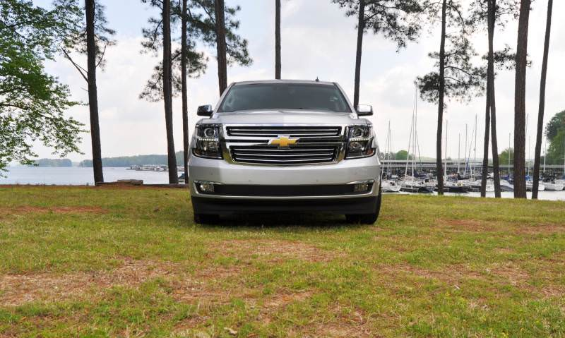 Car-Revs-Daily.com Road Test Review Videos - 2015 Chevrolet Tahoe LTZ 4WD138