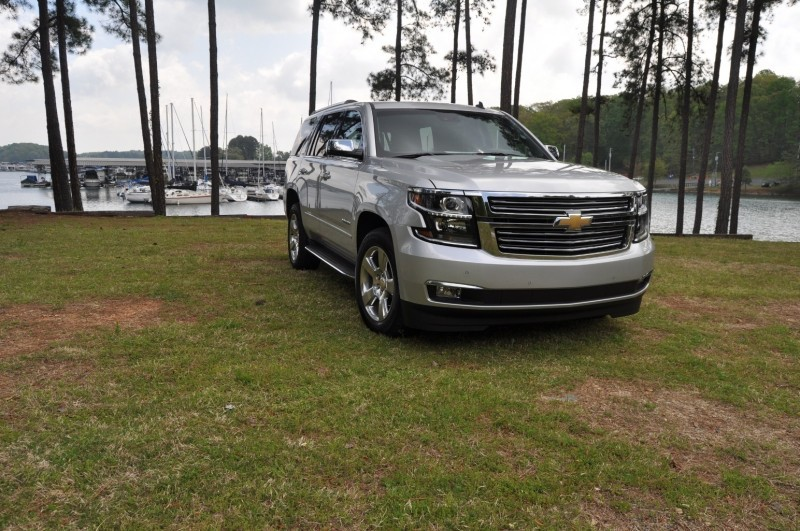 Car-Revs-Daily.com Road Test Review Videos - 2015 Chevrolet Tahoe LTZ 4WD140