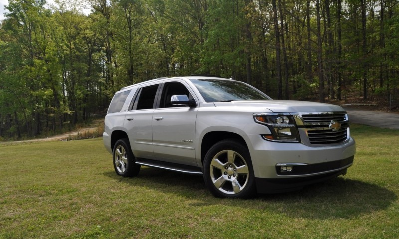 Car-Revs-Daily.com Road Test Review Videos - 2015 Chevrolet Tahoe LTZ 4WD40
