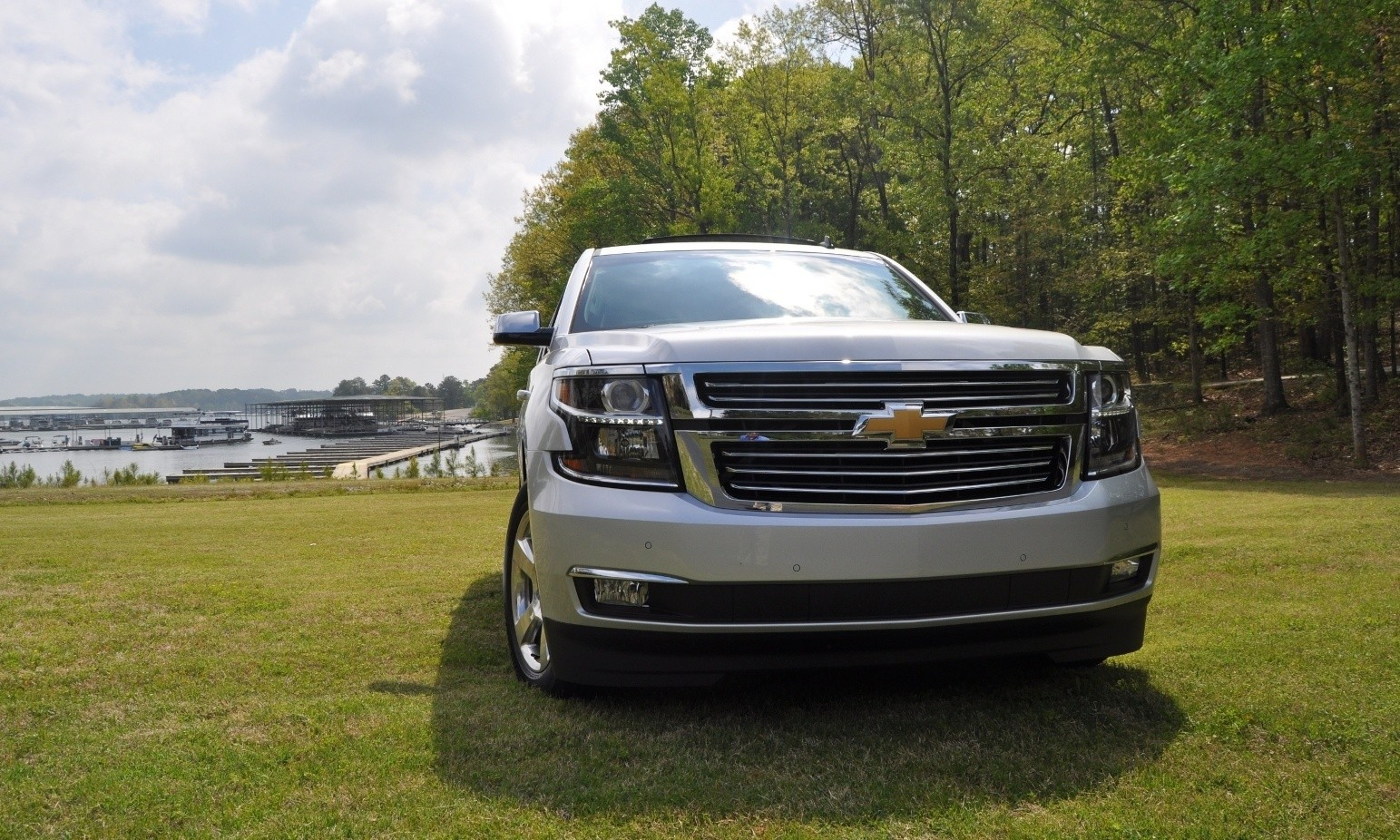 Road Test Review 2015 Chevrolet Tahoe Ltz 4wd Chevy Exterior Gallery Two