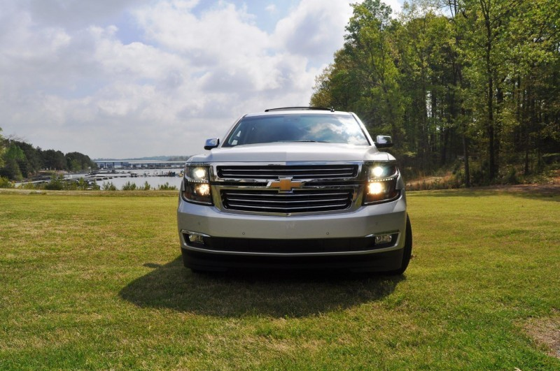 Car-Revs-Daily.com Road Test Review Videos - 2015 Chevrolet Tahoe LTZ 4WD50