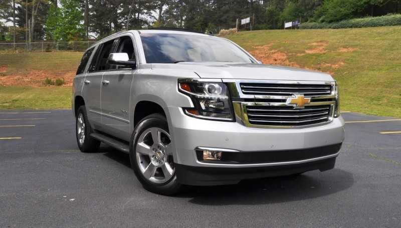 Car-Revs-Daily.com Road Test Review Videos - 2015 Chevrolet Tahoe LTZ 4WD56