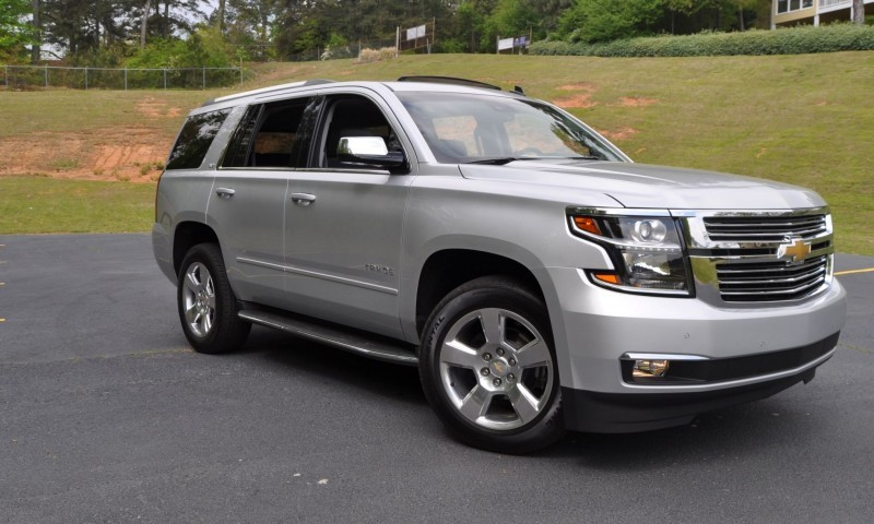Car-Revs-Daily.com Road Test Review Videos - 2015 Chevrolet Tahoe LTZ 4WD57