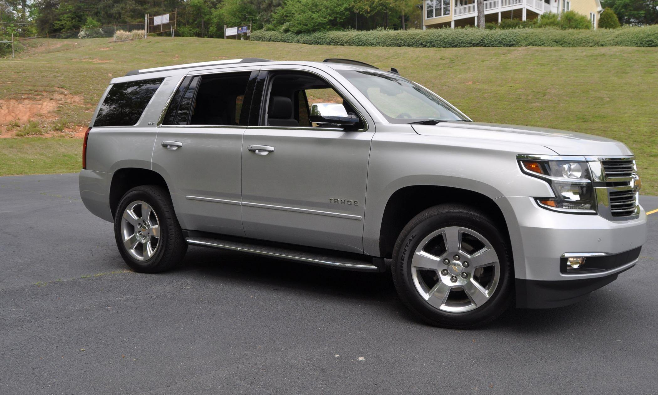 road test review 2015 chevrolet tahoe ltz 4wd. Black Bedroom Furniture Sets. Home Design Ideas
