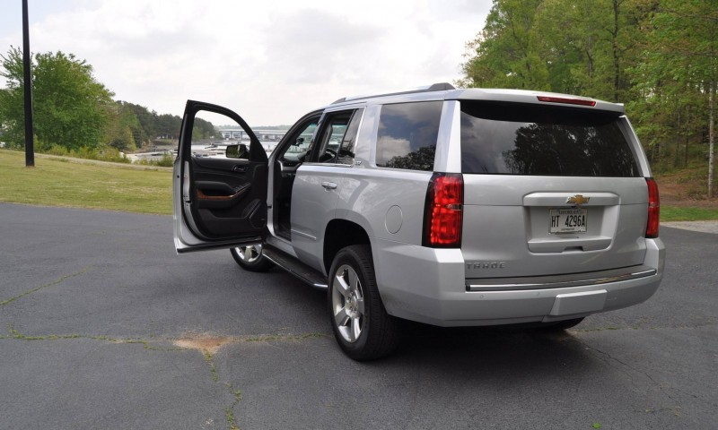 Car-Revs-Daily.com Road Test Review Videos - 2015 Chevrolet Tahoe LTZ 4WD84