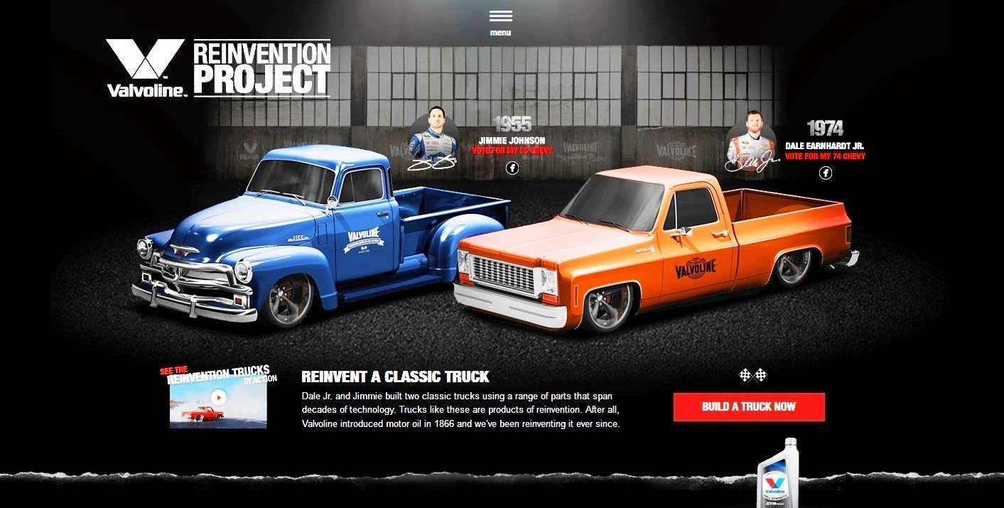 Build Your Own 500hp Chevy Truck With Valvoline 1957 Paint Colors Reinvention Project Trucks Hendrick Motorsport 1