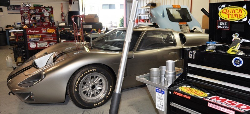 Car-Revs-Daily.com Visits the Olthoff Racing Factory - Superformance GT40 Mark II 19