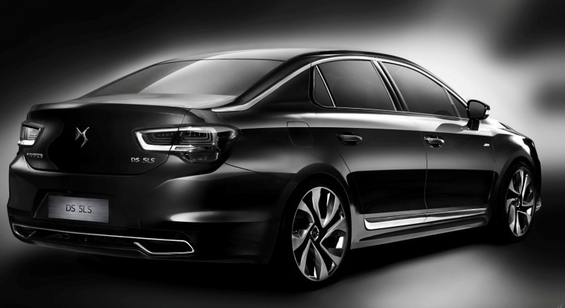 Citroen DS Brings Parisian Street Style to Beijing with DS 5LS -- 5LS R Version Packing 300HP! 21